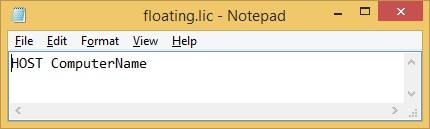 How To Setup a Floating License Server - HOME I/O